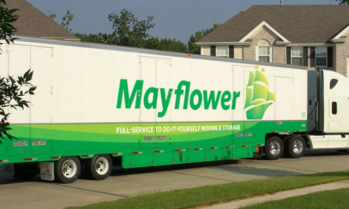 Allegan Moving Mayflower. Full Service Storage